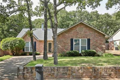 Bedford Single Family Home Active Option Contract: 3733 Hackberry Lane