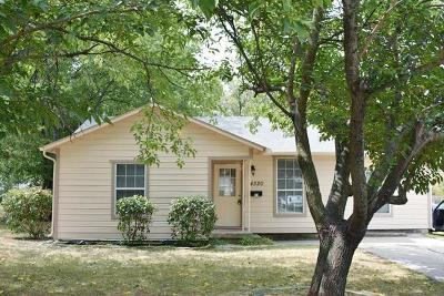 Haltom City Residential Lease For Lease: 4320 Voncille Street