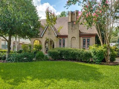 Dallas Single Family Home For Sale: 5314 Morningside Avenue