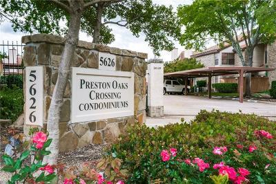 Condo For Sale: 5626 Preston Oaks Road #43C