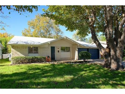 Grapevine Single Family Home Active Option Contract: 1052 Easy Street