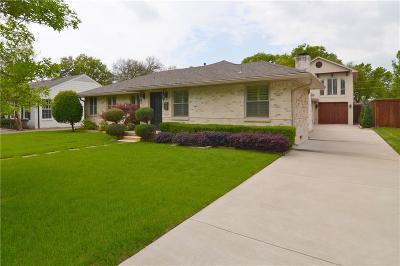 Dallas Single Family Home For Sale: 9915 Ontario Lane