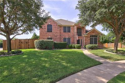 The Colony Single Family Home Active Option Contract: 5801 Copper Canyon Drive
