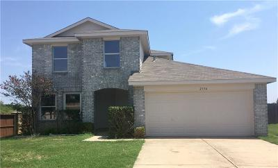 Denton Single Family Home For Sale: 2336 Northway
