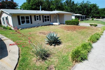 Arlington Single Family Home Active Option Contract: 1718 Jocyle