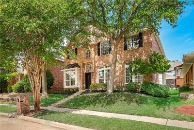 Plano Single Family Home Active Option Contract: 2340 Havard Oak Drive