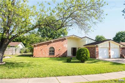 North Richland Hills Single Family Home For Sale: 7548 David Drive