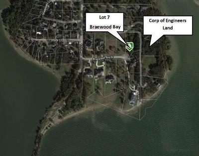 Denton County Residential Lots & Land For Sale: Lot 7 Braewood Bay