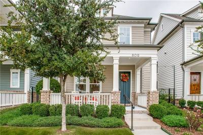 Coppell Single Family Home For Sale: 809 Cameron Court