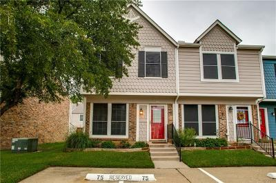 Euless Townhouse For Sale: 75 Winchester Drive