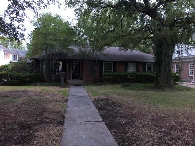 Highland Park, University Park Single Family Home For Sale: 3917 Wentwood Drive