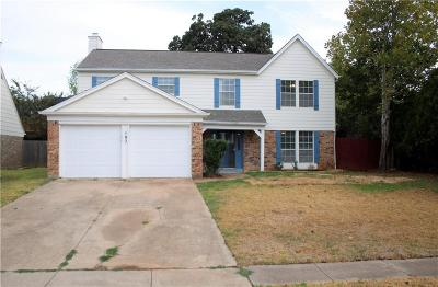 Euless Single Family Home For Sale: 102 Wildbriar Street