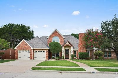 Coppell Single Family Home For Sale: 300 Parkview Place