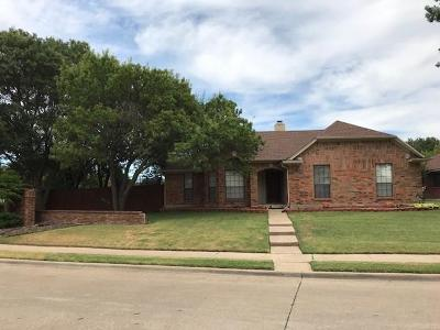Allen Single Family Home For Sale: 1301 Edelweiss Drive