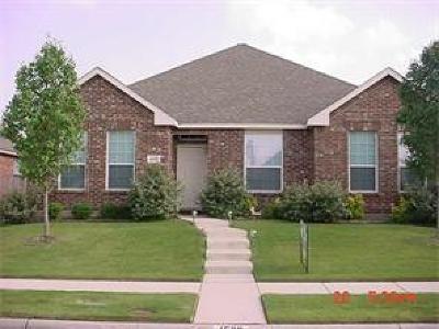 Allen Single Family Home For Sale: 1520 Streams Way