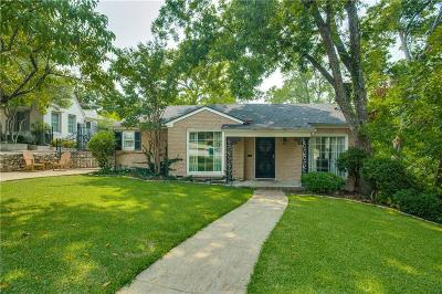 Single Family Home For Sale: 3809 Bellaire Drive S