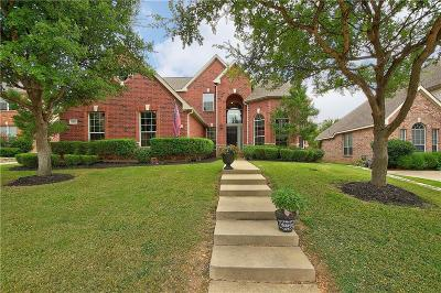 McKinney Single Family Home Active Option Contract: 8901 Red Oaks Drive