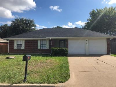 Arlington Residential Lease For Lease: 816 Castleview Drive