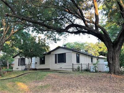 Fort Worth Single Family Home For Sale: 3501 Medina Avenue