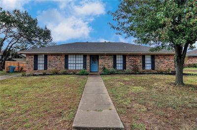 Sherman Single Family Home Active Option Contract: 2209 Oak Creek Drive