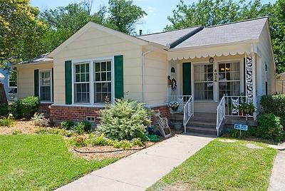 Fort Worth Single Family Home For Sale: 4024 Boyd Avenue