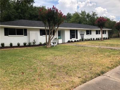 Kaufman Single Family Home Active Option Contract: 1003 Royal Drive