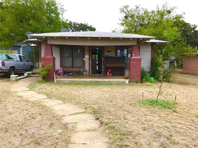 Cisco TX Single Family Home For Sale: $23,000