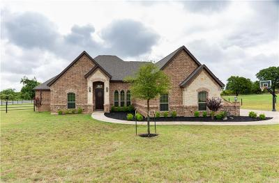 Springtown Single Family Home Active Option Contract: 101 Mill Crossing Lane