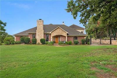 Flower Mound Single Family Home For Sale: 7455 Lost Creek