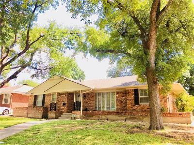 Dallas Single Family Home For Sale: 2234 Cheryl Lane