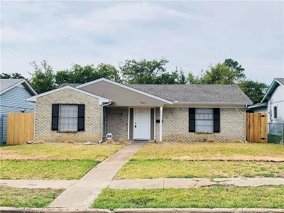 Dallas Single Family Home For Sale: 9651 Glengreen Drive