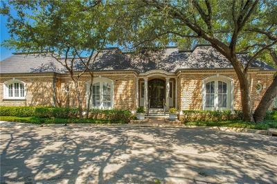 Dallas Single Family Home For Sale: 14 Lakeside Park