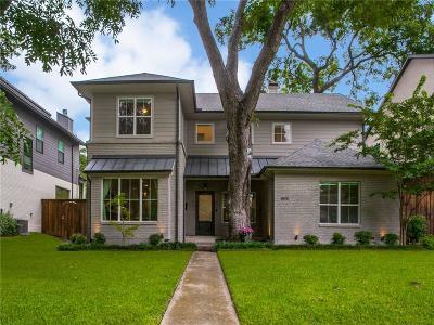 Dallas Single Family Home For Sale: 8610 Thunderbird Lane