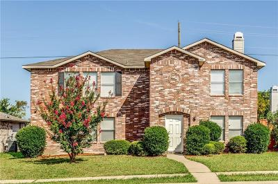 Rockwall Single Family Home For Sale: 1482 Hickory Creek Lane