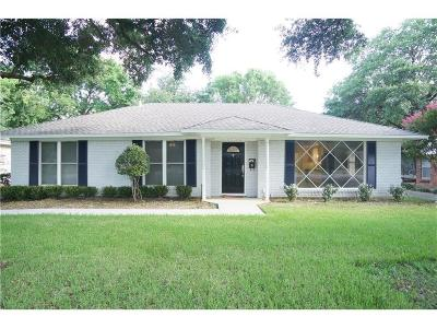 Single Family Home For Sale: 3522 Royal Lane