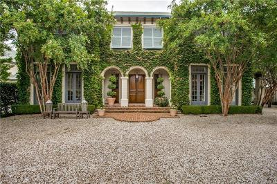 Dallas  Residential Lease For Lease: 6231 Woodland Drive