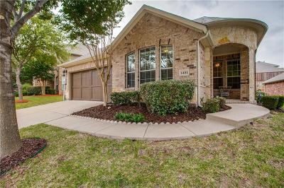 Mckinney Single Family Home Active Option Contract: 1401 Patriotic Lane