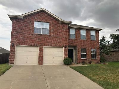 Denton County Single Family Home Active Option Contract: 319 Chisholm Trail