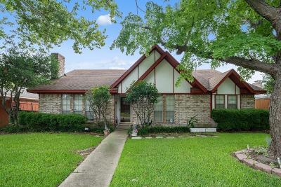 Rowlett Single Family Home For Sale: 7306 Ridgeview Drive