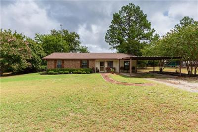 Springtown Single Family Home For Sale: 309 Sage Trail