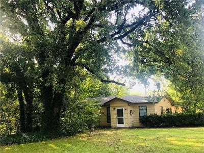 Johnson County Single Family Home Active Option Contract: 6209 Baker Lane