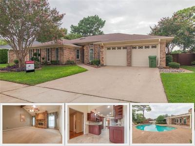 Bedford Single Family Home For Sale: 3713 Woodmont Court