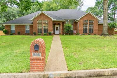 Tyler Single Family Home Active Option Contract: 1393 Santa Fe Trail