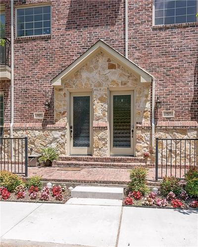 Highland Park, University Park Townhouse For Sale: 3429 Rankin Street #2AA
