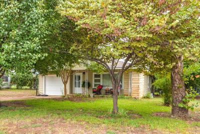 Stephenville TX Single Family Home For Sale: $119,000