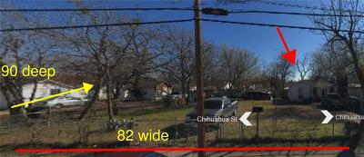 Dallas Single Family Home For Sale: 3026 Chihuahua Street