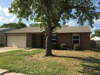 North Richland Hills Residential Lease For Lease: 6921 Mid Cities Boulevard