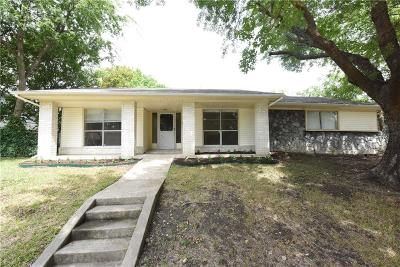 Garland Single Family Home For Sale: 1125 Gardengate Circle