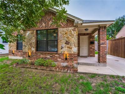 Dallas Single Family Home For Sale: 1206 Melbourne Avenue