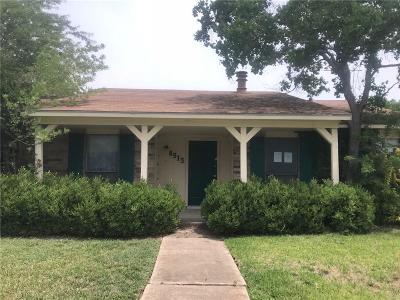 Rowlett Single Family Home For Sale: 8513 Woodside Road